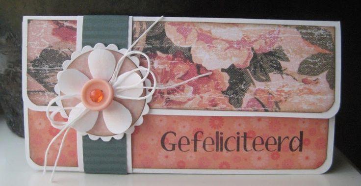 Boukjes Blog!: Cadeau envelop - met maten