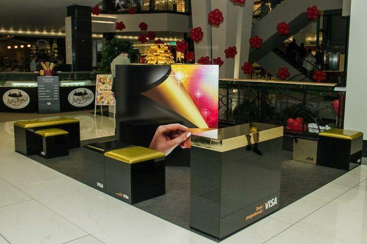 Visa stand - Shopping mall 'Stadion', Voždovac