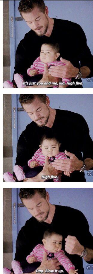 Grey's anatomy Mark and Sofia