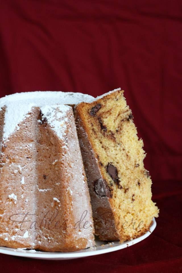 Pandoro con cioccolato in gocce | Fables de Sucre
