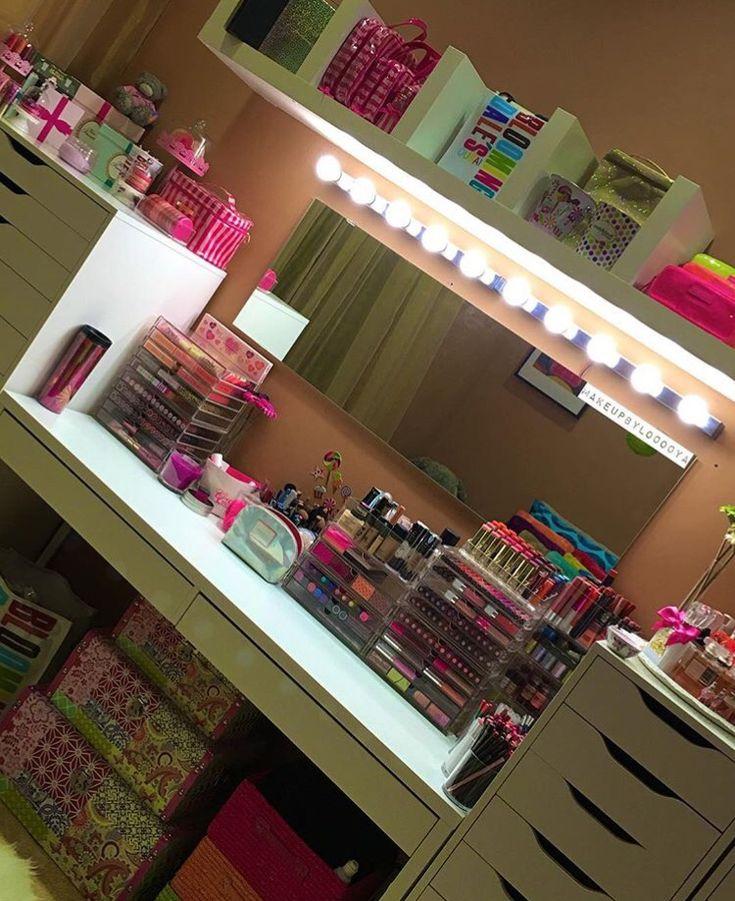763 Best Vanity Ideas Makeup Organization Images On