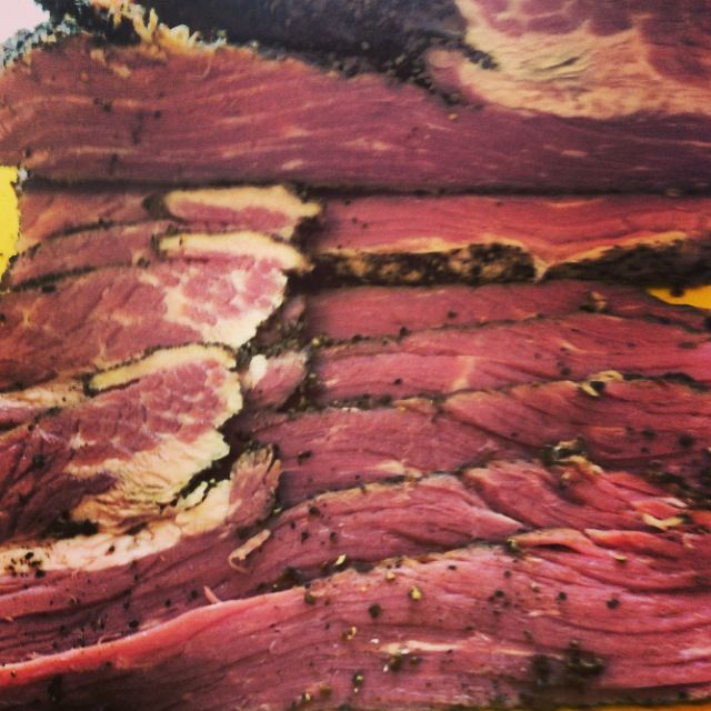 Home-cured pastrami | corned-smoked meat | Pinterest