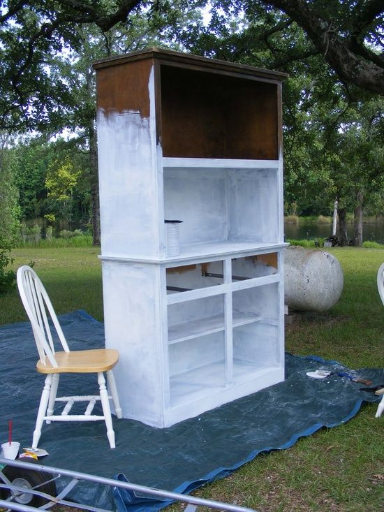 How to Paint Veneer Furniture Without Sanding ,