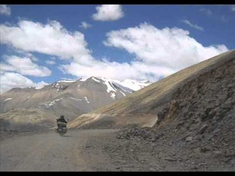 Biking in Paradise Man and Machine in Ladakh