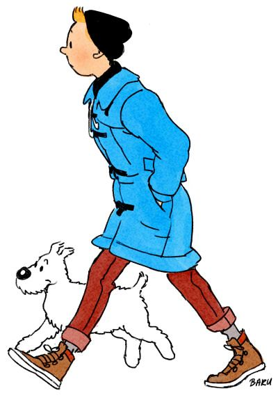 I loved reading the Adventures of Tin-Tin when I was growing up (taken from Stefanie Jager)