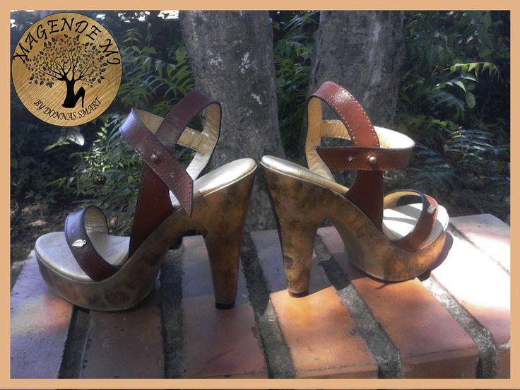 """Colección """"magende mi"""". Tacones pirograbados y pintura artesanal. https://www.facebook.com/MagendemibyDonnaSmart/"""
