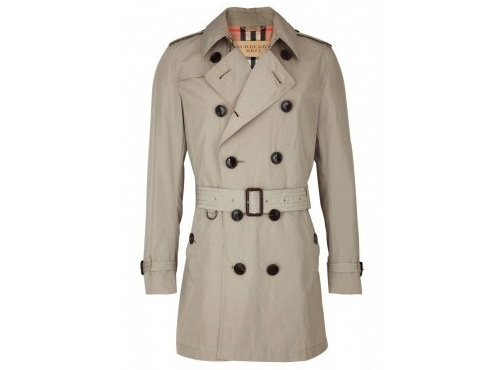 Cant go wrong with a burberry mac.