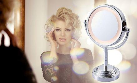 Kozmetikai tükör, led fénnyel
