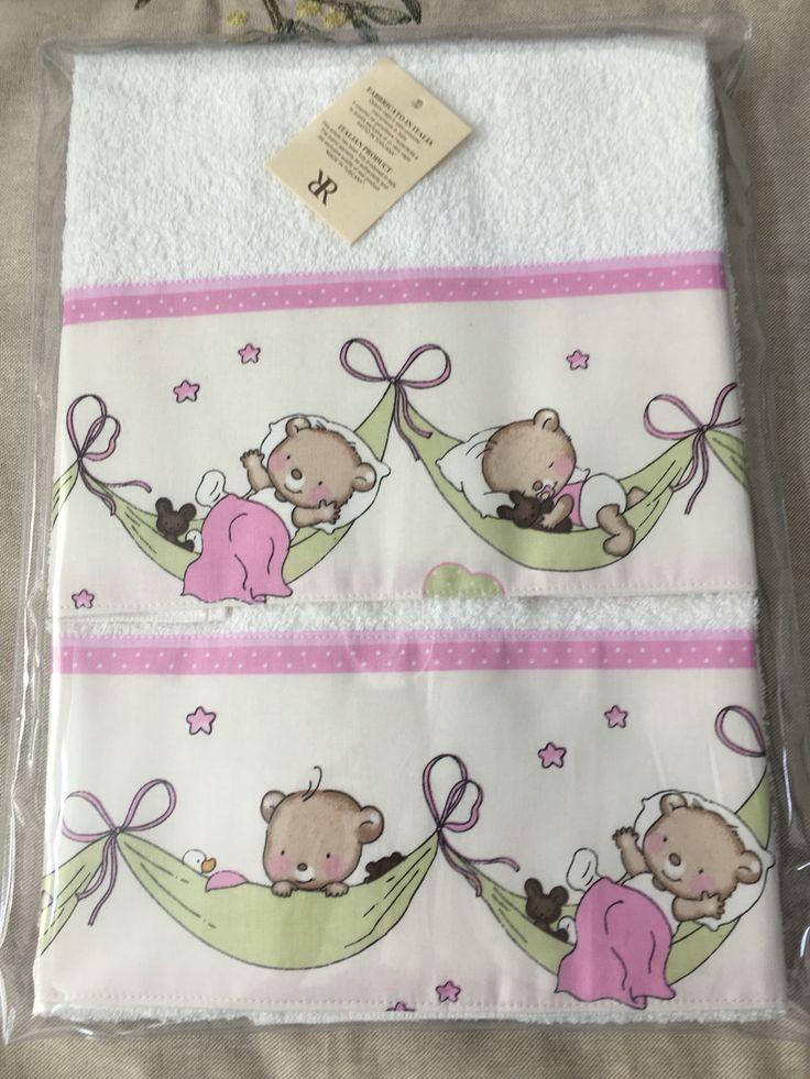 #baby #care #sweetbear  10€ due asciugamani  per bambini