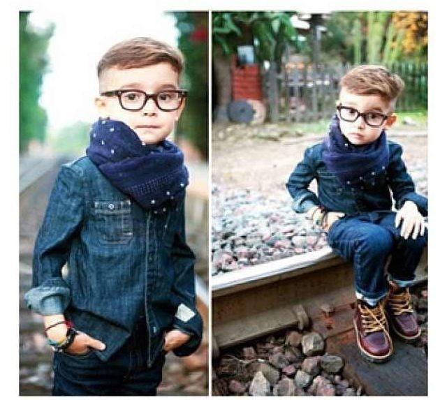 Hipster toddler.