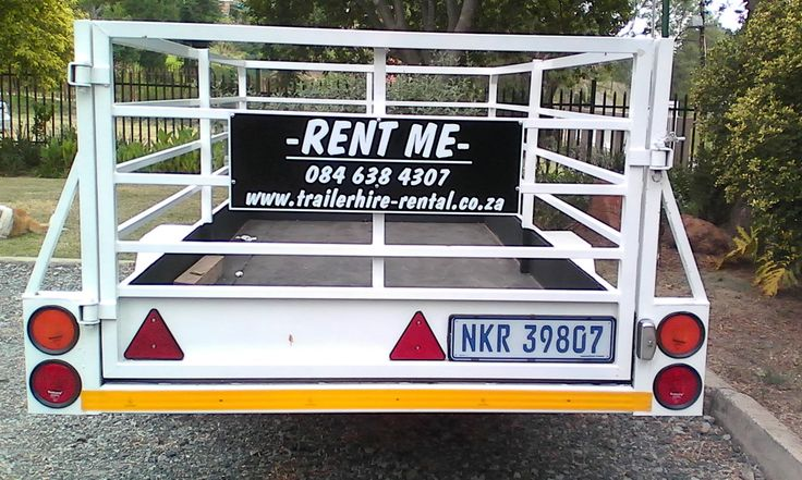 1 Ton Box Trailer