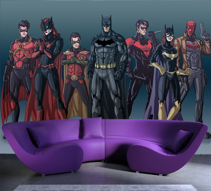 Batman wallpaper for bedroom