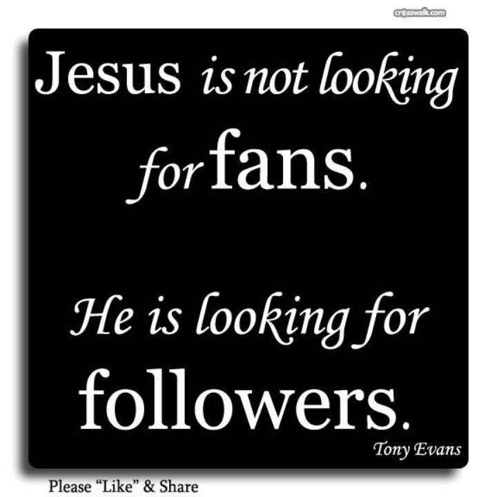 """Amen...""""Not a Fan"""" by Kyle Idleman.....great book!"""