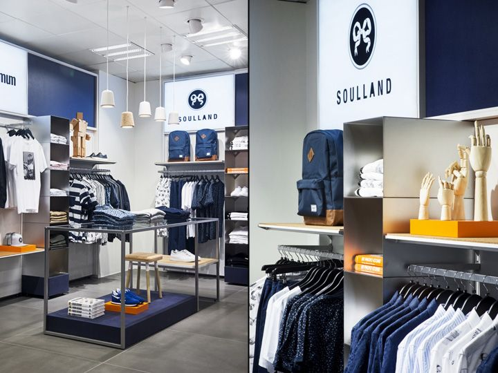 Mens The Lab Department Store By Magasin Du Nord Copenhagen Denmark Retail Design