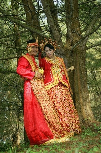 Prawedding from south sulawesi, indonesia