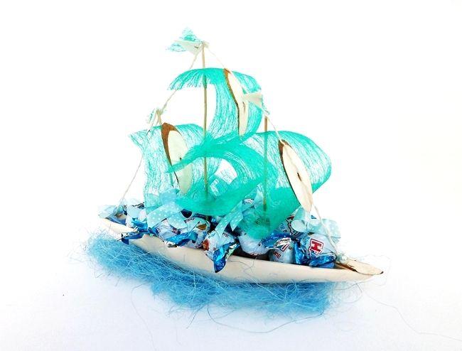 Statek z cukierków