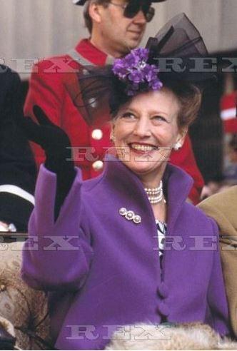 Queen Margrethe, October 31, 2000