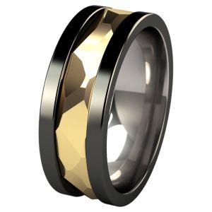 210 best Black Titanium Rings images on Pinterest Titanium rings