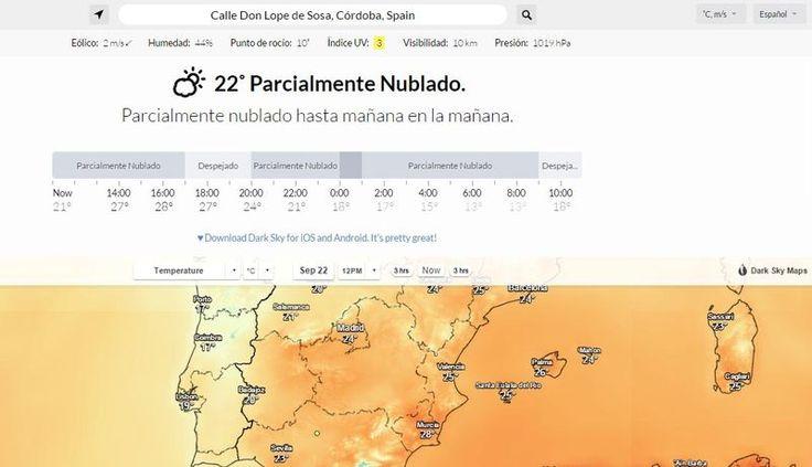Mejor app de predicción meteorológica ahora también online