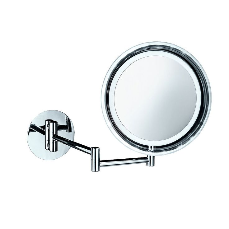 Decor Walther Wall Mounted Round Extendable Mirror | Cosmetic Mirrors | CP Hart