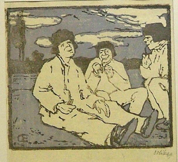 "ORLIK Emil: ""Tři chlapi s fajfkami"""