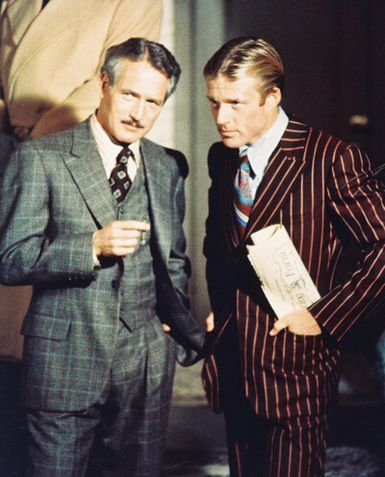 Hello, gentlemen! The Sting is the OTHER great Paul Newman/Robert Redford movie. And they were both gorgeous and charming.