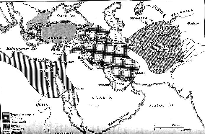 Middle East in the Late 10th Century