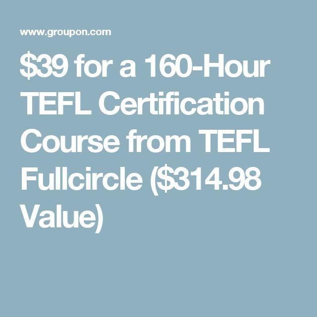 learn tefl groupon