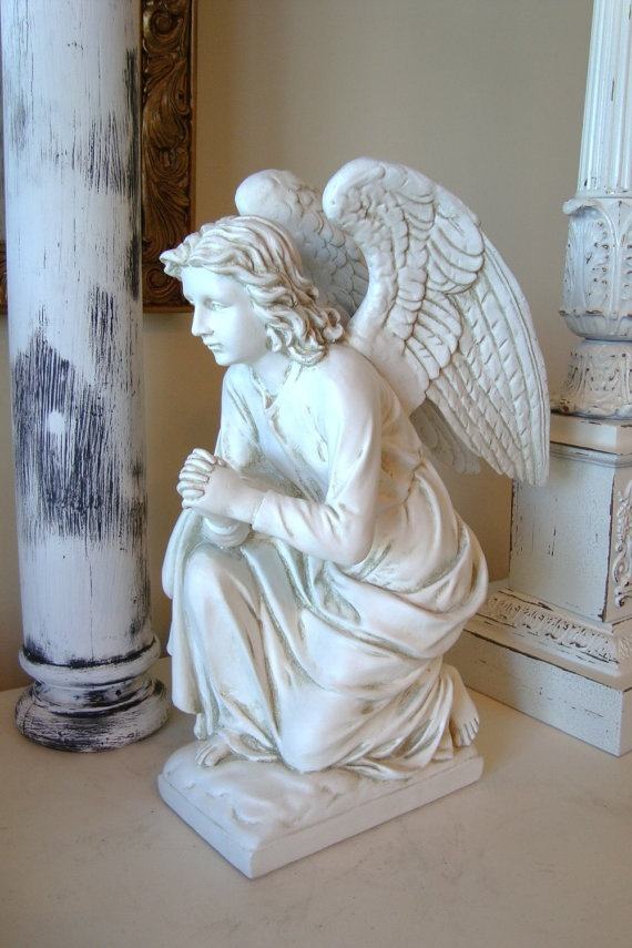 Reserve For Shelly Sale Kneeling Angel Statue Angel