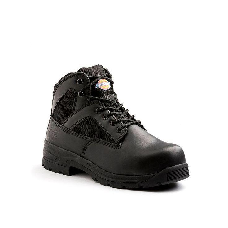 Dickies Buffer Men's Steel-Toe Boots, Size: medium (10.5), Black