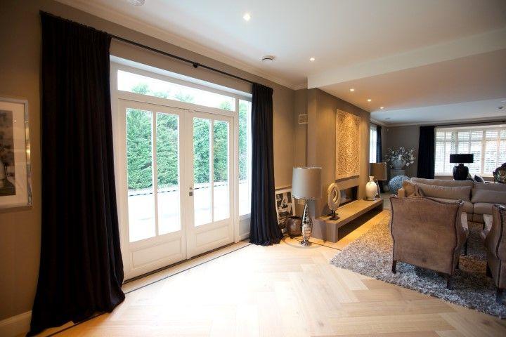 A home with a view. #linnen #gordijnen #linnengordijnenshop
