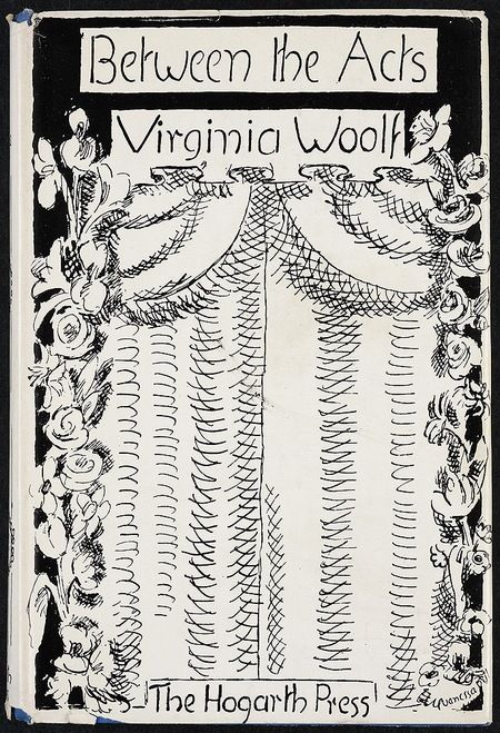 Between the Acts (first edition, 1941) by Virginia Woolf, cover illustrated by Vanessa Bell