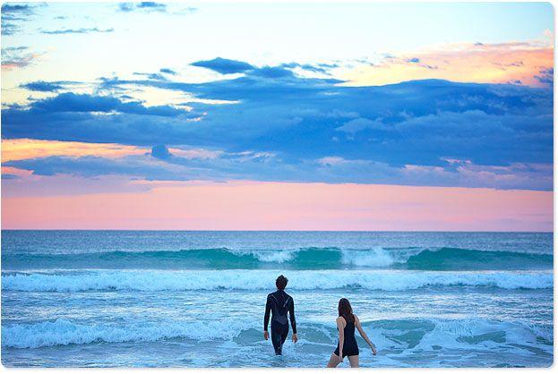 Sunrise swim, Bondi 7am