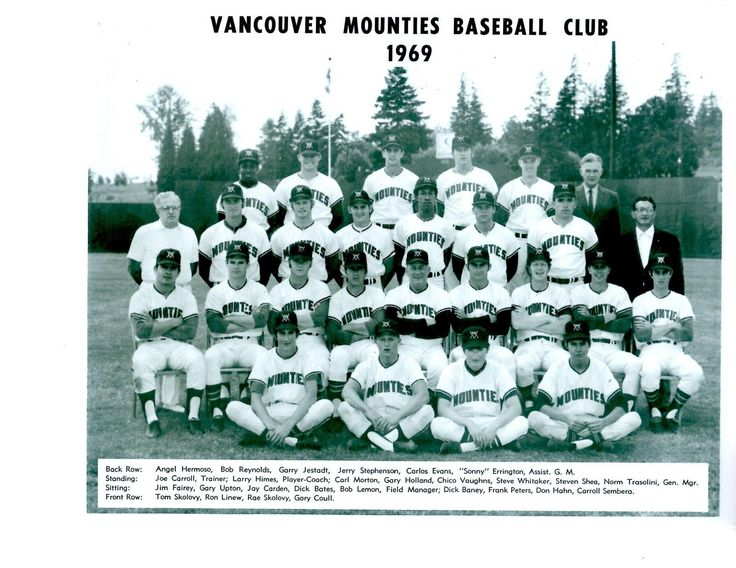 1969 Vancouver Mounties (AAA affiliate of the Seattle Pilots & Montreal Expos)