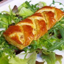 Ultra simple et rapide à préparer: Feuilleté courgette et fromage frais sur Recettes.net