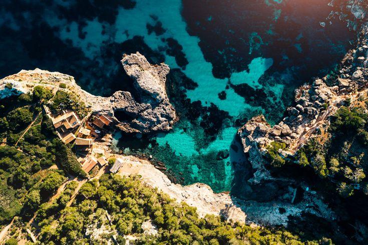 Entdecke Mallorca von oben: atemberaubende Buchten!