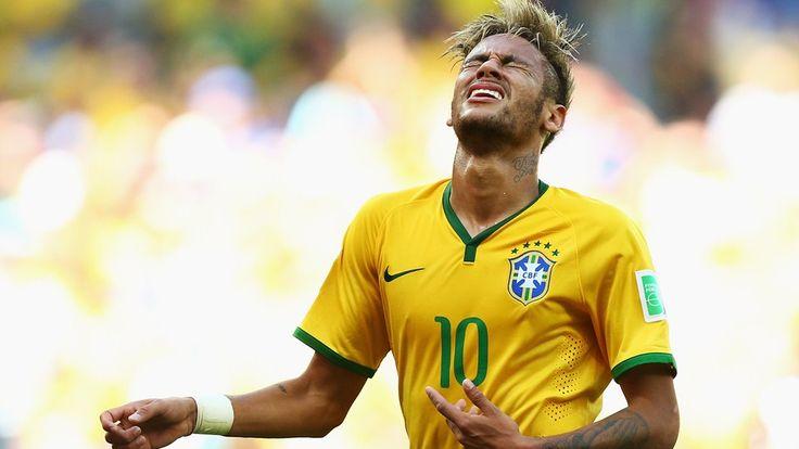 Neymar of Brasil - worldcup 2014 football team