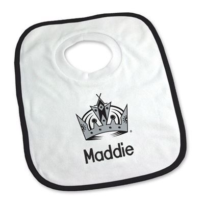 9 best los angeles kings baby gifts images on pinterest infants keep your future nhl star clean with our personalized los angeles kings bib young fans negle Choice Image