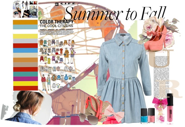 """""""Summer to Fall"""" by dyprob ❤ liked on Polyvore"""