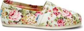 The Shoe Fits: Floral TOMS Help Local Nonprofit - Santa Monica, CA Patch