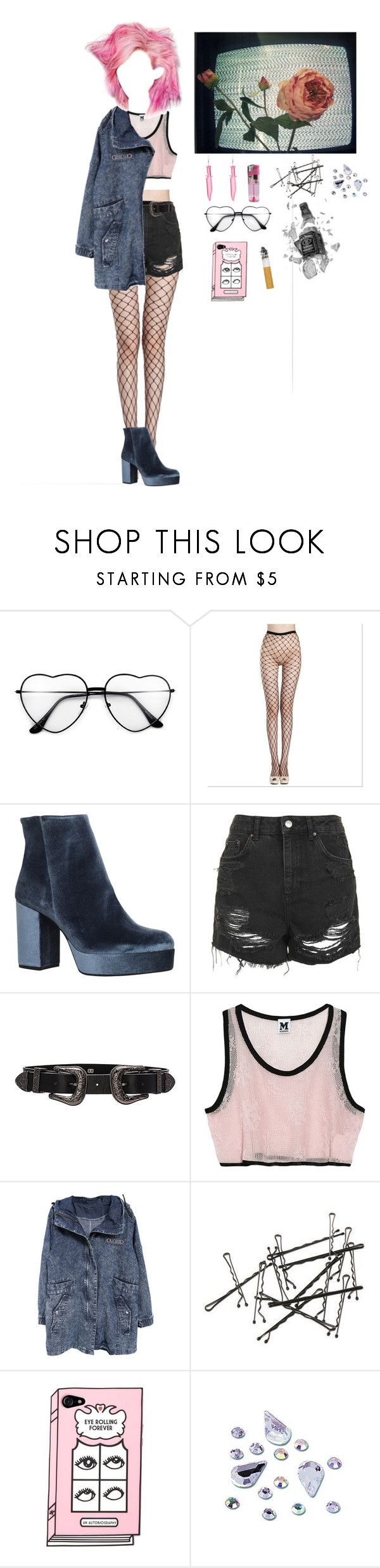 """Untitled #202"" by shelly-alk ❤ liked on Polyvore featuring CO, Carvela, Topshop, B-Low the Belt and Missoni"