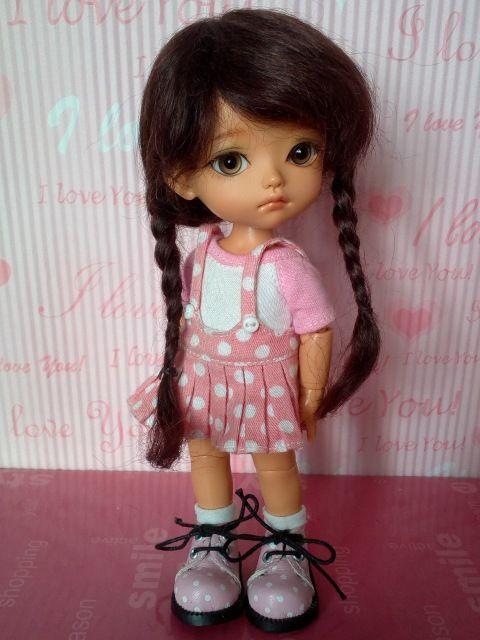 """Парики 5-6"""" для пукифи, лати и др. из натурального мохера / Все для БЖД / Шопик. Продать купить куклу / Бэйбики. Куклы фото. Одежда для кукол"""