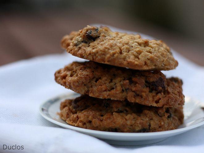 Receita Outro : Cookies de aveia e cranberries secas (ou passas) de Carladuc