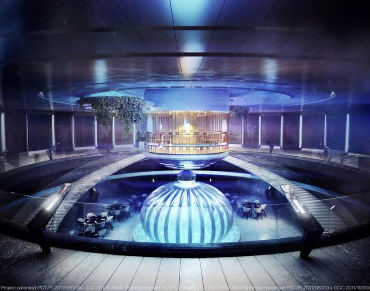 Water discus hotel photos inside the world 39 s largest for World biggest hotel in dubai