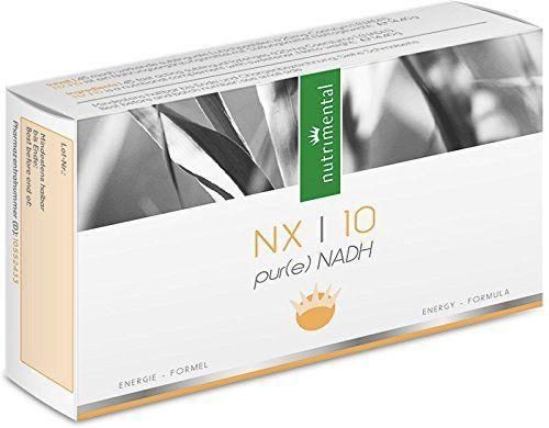 NX10 von Nutrimental-- 100 % reines NADH mit 20 Milligramm reinem NADH pro Lutschpastille - Empfohlen von Prof. Hademar Bankhofer - Sehr gute Bioverfügbarkeit