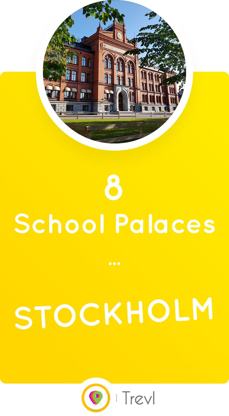See where to find the prettiest 'school palaces' in Stockholm. Some of the most underrated architectural sites in the city.