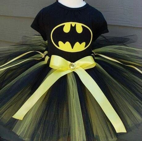 Batman tutu - Homecoming week for Lexi