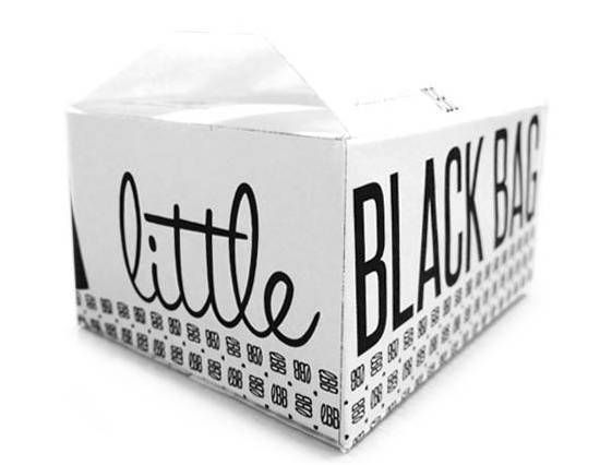 Little Black Bag stands out with special packaging.