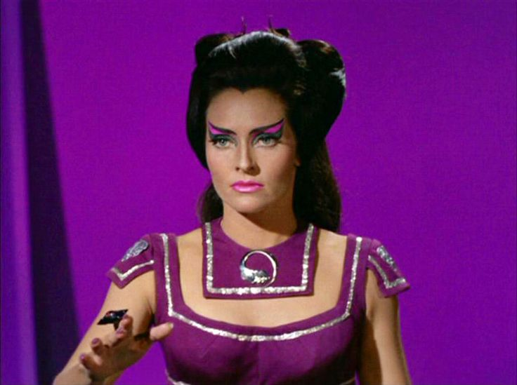 "Lee Meriwether as Losira from Season 3, Episode 17:  ""That Which Survives"""