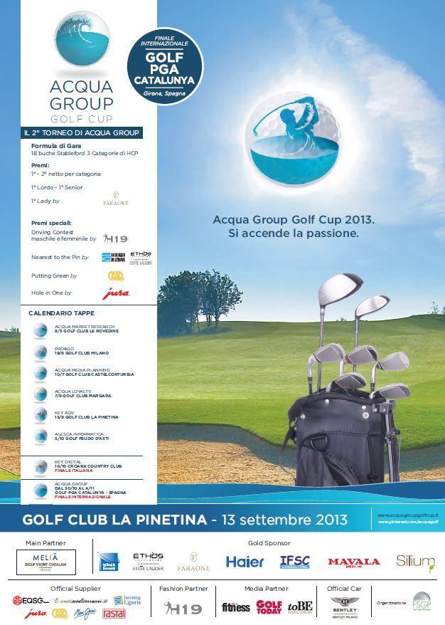 Locandina GC La Pinetina, 13.9.13